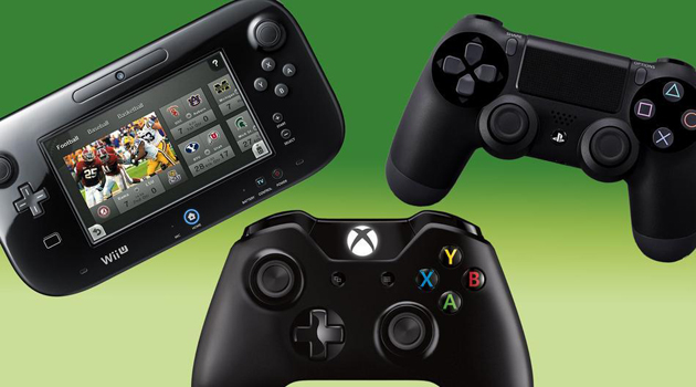 XboxOne vs PS4 vs Wii U