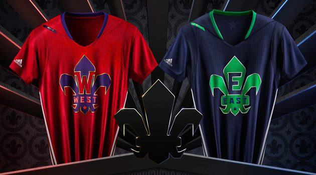 adidas Unveils 2014 NBA All-Star Uniforms