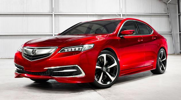 Acura TLX Prototype Doesn't Look Half Bad