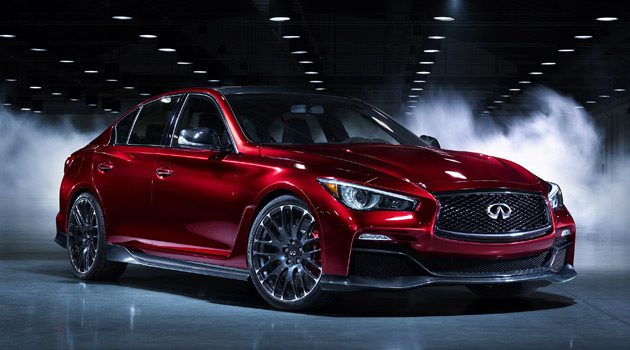 Listen To The Roar Of The Infiniti Q50 Eau Rouge Concept