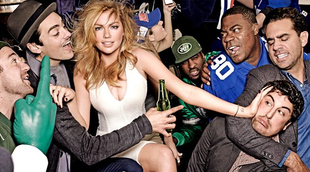 A Behind The Scenes Look At Kate Upton's Super Bowl Photo Shoot