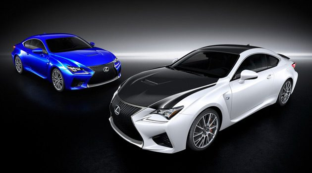 Revealed: Lexus RC F Carbon Package