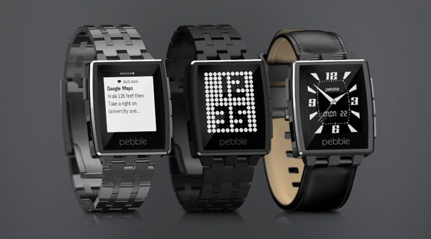 Pebble Steel Smartwatch Debuts At CES