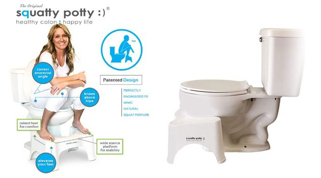 Have You Heard About The Squatty Potty?
