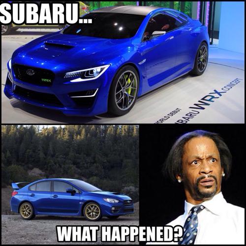 Subaru - What Happened?
