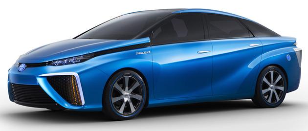 Toyota FCV - 2