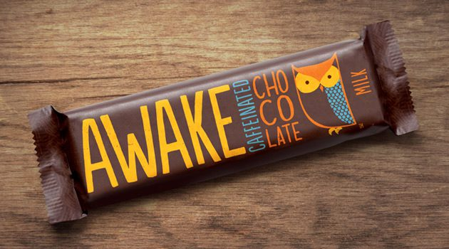 Stay AWAKE With Caffeinated Chocolate