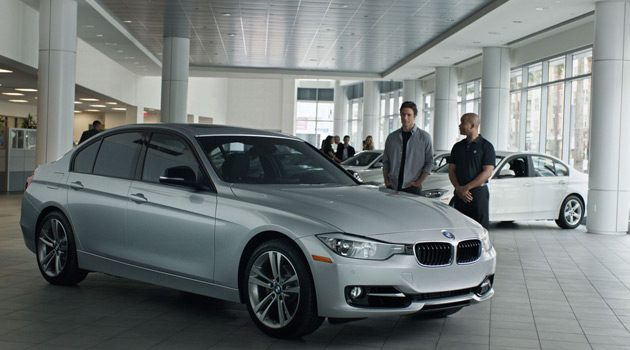New BMW 3-Series Commercial Features Brooklyn Decker