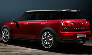 MINI Clubman Concept To Be Unveiled At Geneva Motor Show