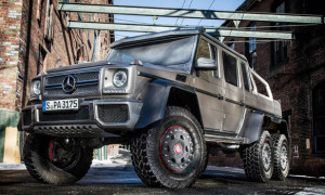 Prepare For The Zombie Apocalypse With The Mercedes-Benz G63 AMG 6×6