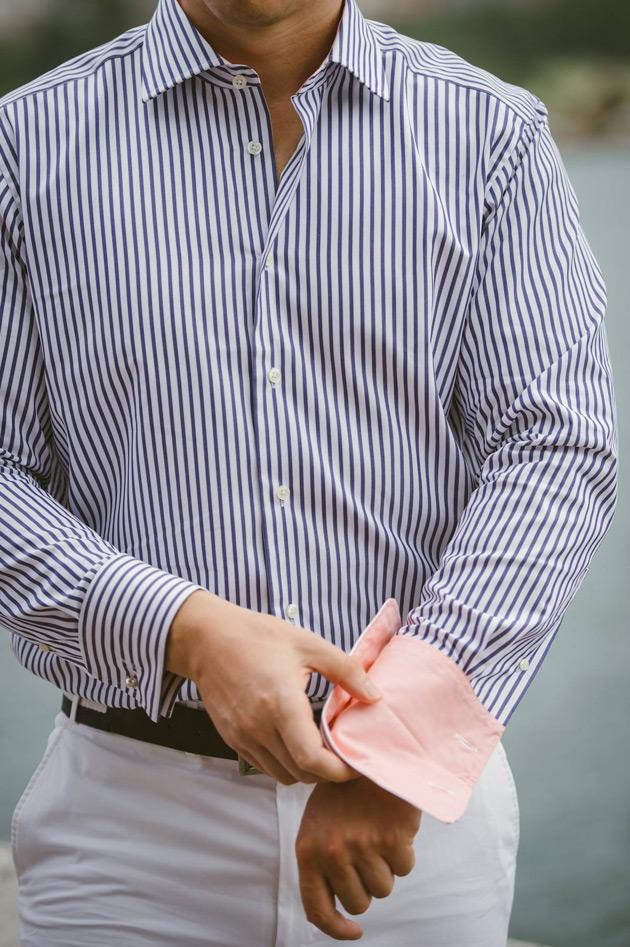 Philippe Perzi Vienna - Closeup of Shirt