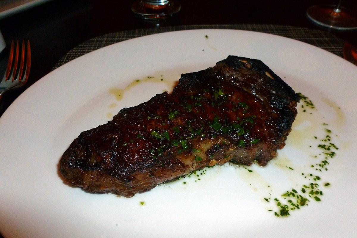 Roberts Steakhouse - New York Strip