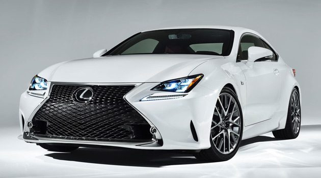 Lexus RC 350 F SPORT Rounds Out Line-Up