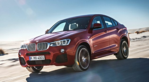 The All-New BMW X4 Sports Activity Coupe