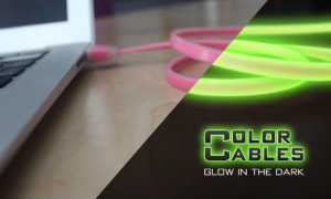 Color Cables: GLOW IN THE DARK Charge & Sync Cables