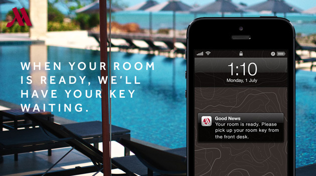 Marriott Mobile Check-In