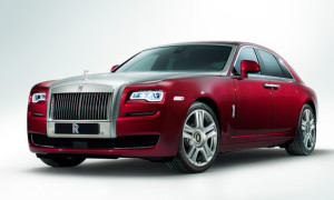 Rolls-Royce Ghost Series II Unveiled At 2014 Geneva Motor Show