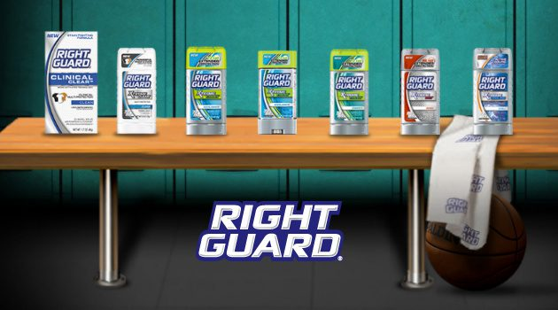 Save Your Shirt From White Residue With Right Guard Xtreme Clear
