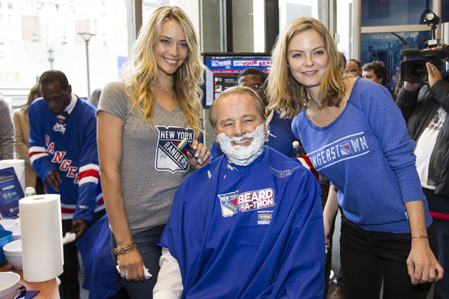 2014 New York Rangers Beard-A-Thon