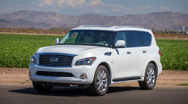 2014 Infiniti QX80 AWD Is Luxury That Needs No Upgrade