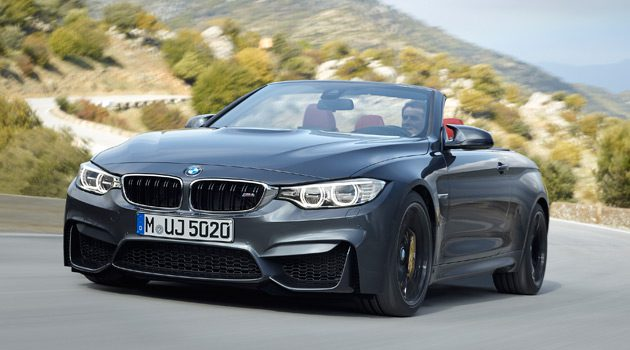 Introducing The New BMW M4 Convertible