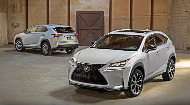 Introducing The All-New Lexus NX Luxury Compact Crossover