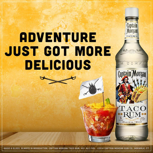 Captain Morgan Taco Rum