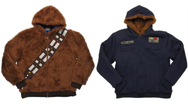 Star Wars Chewbacca Han Solo Reversible Hoodie