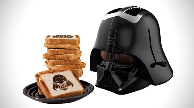 Darth Vader Toaster Burns The 'Dark Side' Onto Your Bread