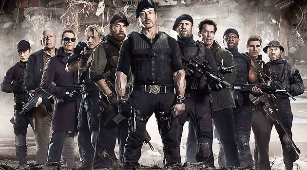 Official Trailer For 'The Expendables 3′