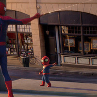 Watch As Spiderman Comes Face To Face With His Inner Youth!