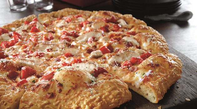 Pizza Hut Launches Garlic Parmesan Pizza