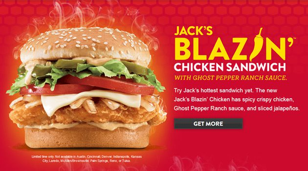 Have You Tried The Jack in the Box Blazin' Chicken Sandwich?