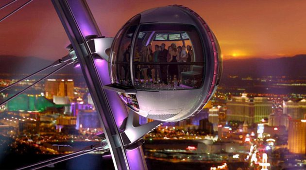 Take A Spin On The High Roller, The World's Tallest Observation Wheel