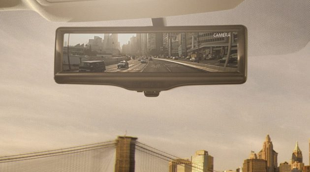 Nissan's Smart Rearview Mirror Is A Total Game Changer