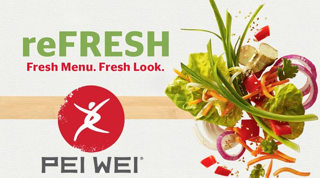 Pei Wei Offers New Menu Items and Entree Sizes