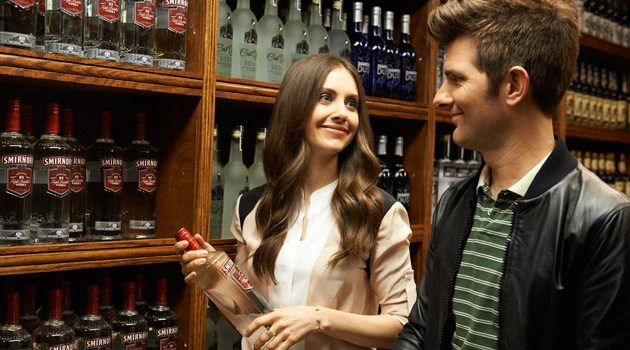 "Alison Brie and Adam Scott Team Up To Host ""The Party"""