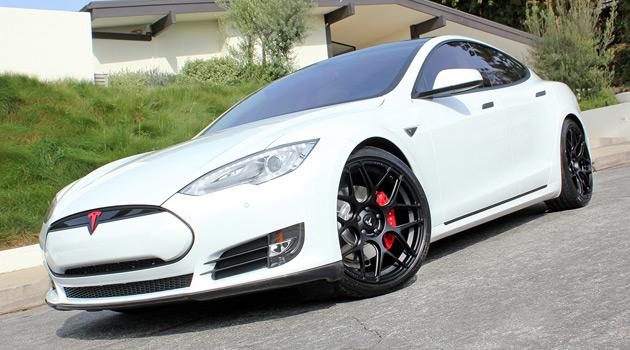 Tesla Model S - T Sportline Carbon Fiber Sports Package