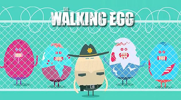 Celebrate Easter With Your Favorite TV Characters Reimagined As Eggs