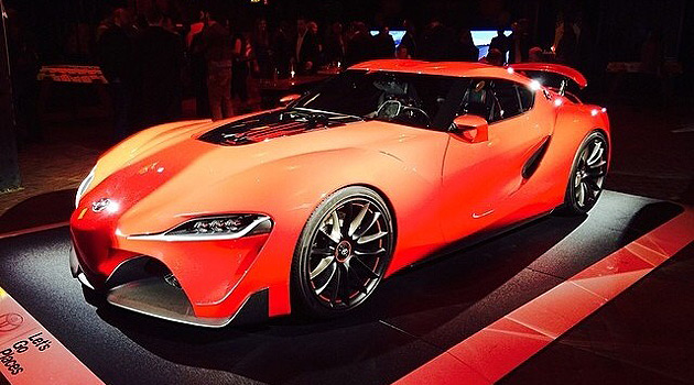 Toyota FT-1 in New York