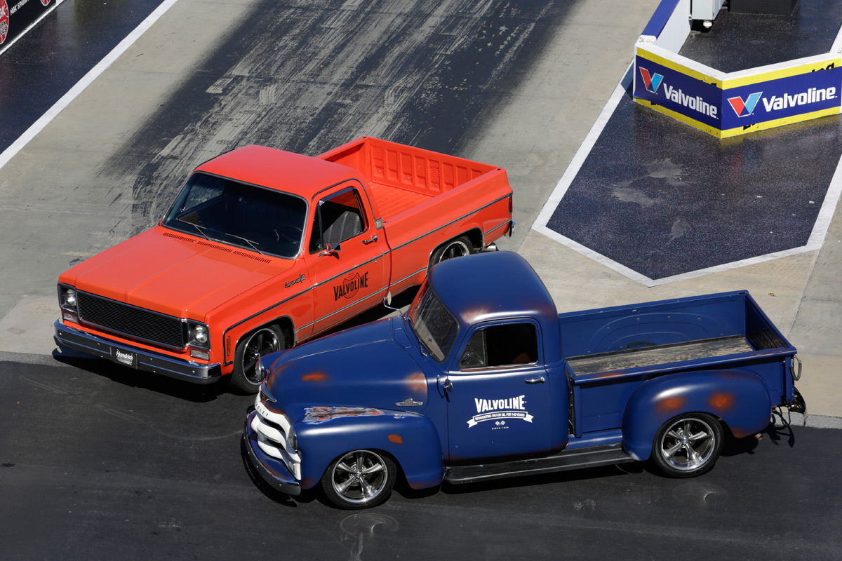 Valvoline Reinvention Project Trucks