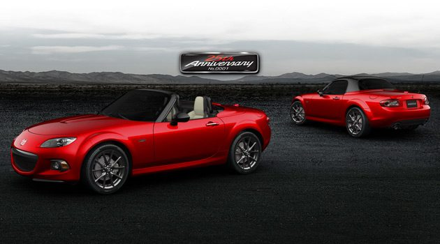 Only 100 People Get To Purchase A 25th Anniversary Edition Miata
