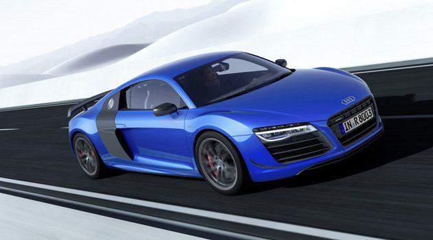 Audi R8 LMX Has Frickin' Lasers Headlights