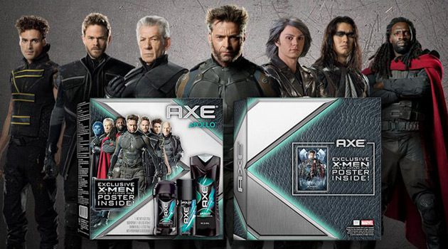 Win A Limited Edition AXE X-Men: Days Of Future Past Gift Set