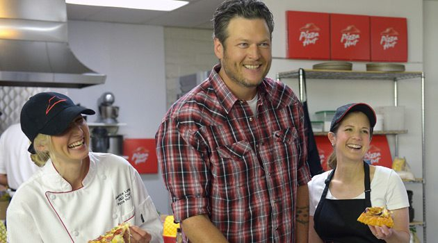 Pizza Hut Partners With Blake Shelton To Roll Out New Line Of BBQ Pizzas