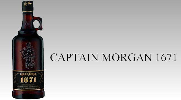 Captain Morgan 1671 Commemorative Blend Spiced Rum