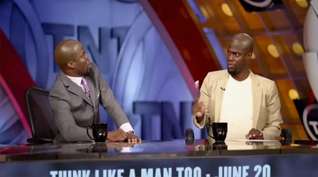 Kevin Hart's Parody of 'Inside The NBA' Cast Is Hilarious
