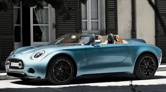 MINI Superleggera Vision Concept Blends Traditional With Modern