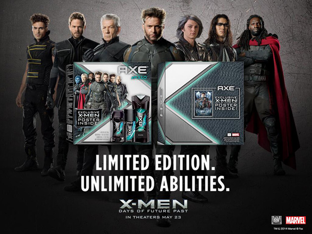 Win A Limited Edition AXE X-Men  Days Of Future Past Gift SetX Men Days Of Future Past Set