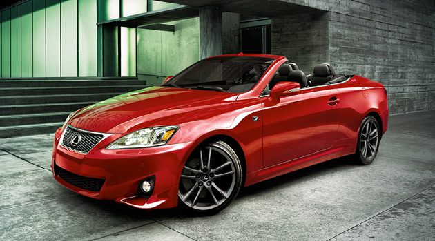 2014 Lexus IS350 Convertible F-Sport, Because Going Topless Is Preferred